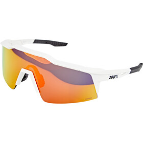 100% Speedcraft Gafas Pequeño, soft tact off white hiper red/HD multilayer mirror